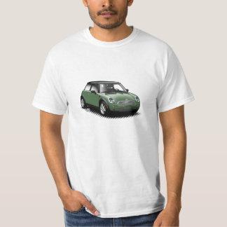 Briten, die grünen modernen Miniauto-T - Shirt