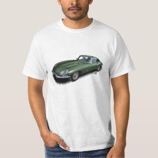 Briten, die grünen Sport-Auto-T - Shirt des