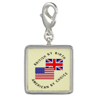 Briten durch Geburts-Amerikaner durch Wahl Foto Charm