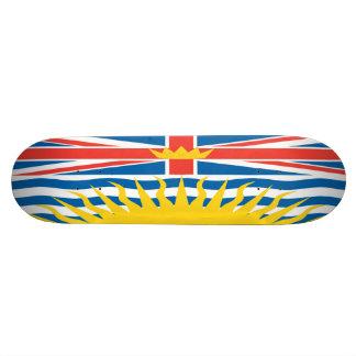 Britisch-Columbia-Flaggen-Skateboard Skate Board