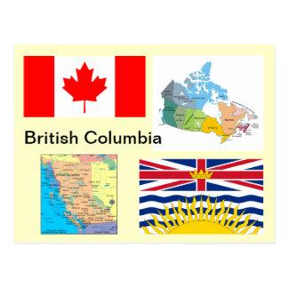 Britisch-Columbia Kanada Postkarte