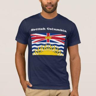Britisch-Kolumbienflaggen-T - Shirt