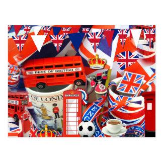 Britische Andenken Postkarte