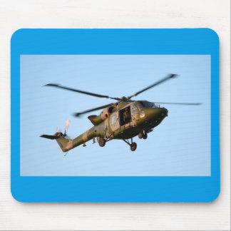 Britische Armee-Hubschrauber Mousepads