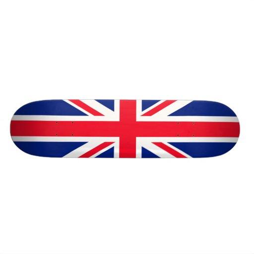 BRITISCHE britische Englisch-Flagge Großbritannien Bedrucktes Skateboard