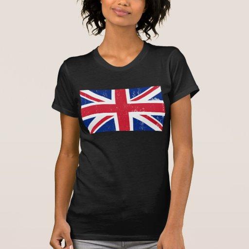 BRITISCHE britische Englisch-Flagge Großbritannien T Shirt