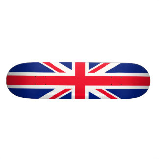 BRITISCHE britische Englisch-Flagge Großbritannien Skateboardbrett