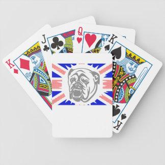 Britische Bulldogge Bicycle Spielkarten