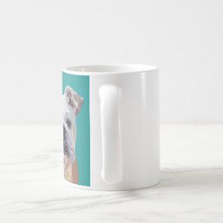 Britische Bulldogge - englische Bulldoggen-Tasse Kaffeetasse