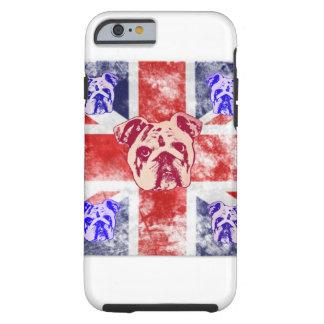 Britische Bulldogge Tough iPhone 6 Hülle