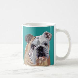 Britische Bulldoggen-Tasse Kaffeetasse