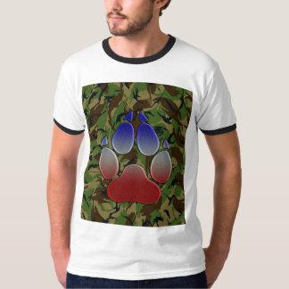 Britische Camouflage mit Gewerkschafts-der Jack T-Shirt