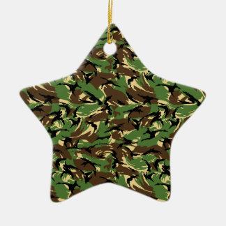 Britische DPM Camouflage Keramik Ornament