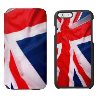Britische Flagge Incipio Watson™ iPhone 6 Geldbörsen Hülle