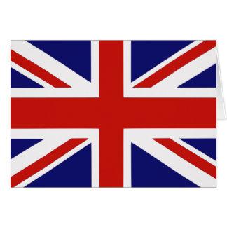 Britische Flagge Karte