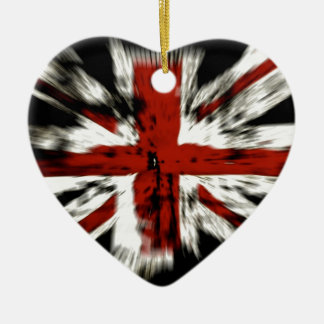 Britische Flagge Keramik Ornament