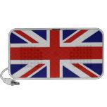 Britische Flagge Laptop Speaker