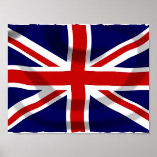 BRITISCHE Flagge Poster
