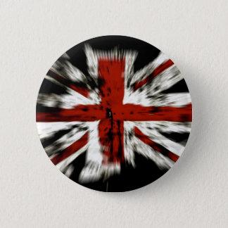 Britische Flagge Runder Button 5,1 Cm
