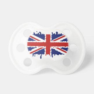 Britische Flagge Schnuller