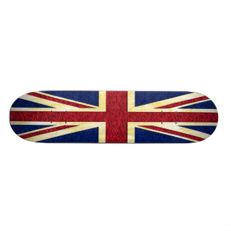 Britische Flagge - Skateboard Individuelles Skateboard