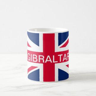 Britische Flaggen-Gibraltar-Tasse Kaffeetasse