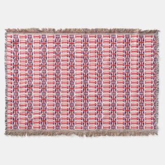 Britische Flaggen-rote Telefonzelle-Wurfs-Decke Decke