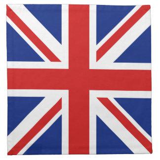 BRITISCHE Flaggen-Serviette Stoffserviette