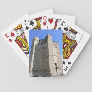 Britische Geschichte - Schloss-Spielkarten Spielkarten