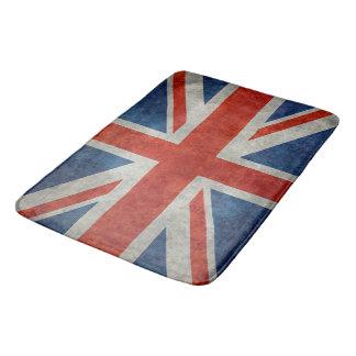 BRITISCHE Gewerkschafts-Jack-Flagge in den Badematte