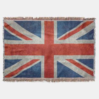 BRITISCHE Gewerkschafts-Jack-Flagge in den Decke