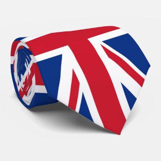 BRITISCHE Gewerkschafts-Jack-Flagge Krawatte