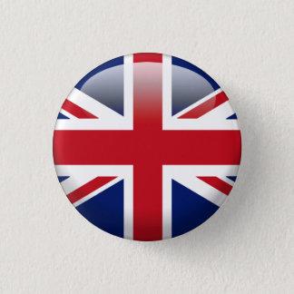 Britische Gewerkschafts-Jack-Flagge Runder Button 3,2 Cm