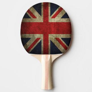 Britische Gewerkschafts-Jack-Flagge von Tischtennis Schläger