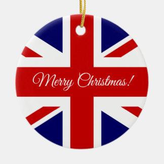Britische Gewerkschafts-Jackflagge Keramik Ornament