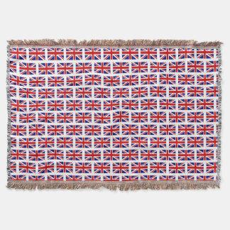 Britische Gewerkschafts-Jackflaggenmuster Decke