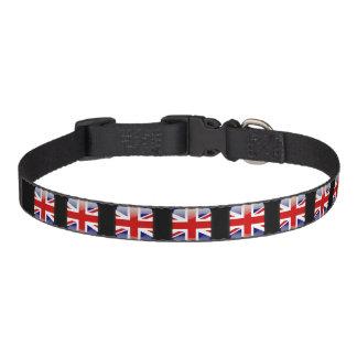 Britische glatte Flagge Haustierhalsband