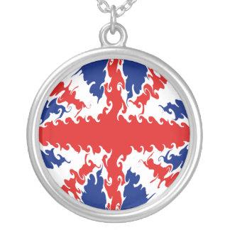 BRITISCHE Gnarly Flagge Halsketten