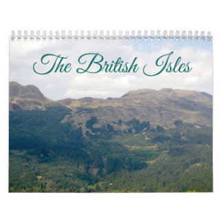 Britische Insel-Kalender Kalender