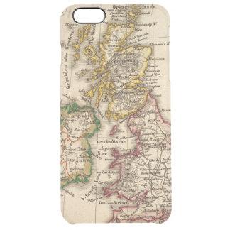 Britische Insel-Karte Durchsichtige iPhone 6 Plus Hülle