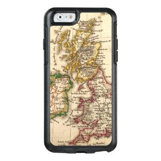 Britische Insel-Karte OtterBox iPhone 6/6s Hülle