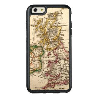 Britische Insel-Karte OtterBox iPhone 6/6s Plus Hülle