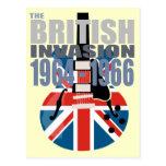 Britische Invasion 2 Postkarten