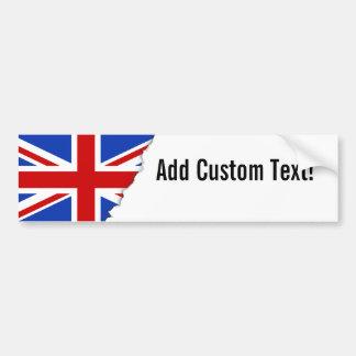 Britische Königreich-Flagge Autoaufkleber