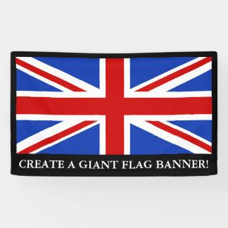 Britische Königreich-Flagge Banner