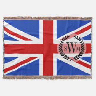 Britische Königreich-Flagge Decke