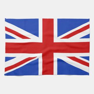 Britische Königreich-Flagge Geschirrtuch