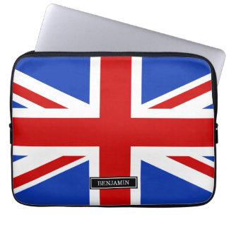Britische Königreich-Flagge Laptop Sleeve