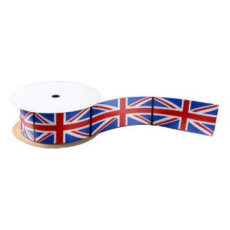 Britische Königreich-Flagge Satinband