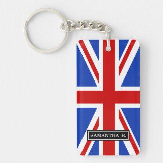 Britische Königreich-Flagge Schlüsselanhänger